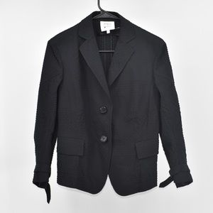 Akris Punto Saks Collection Textured blazer size 8